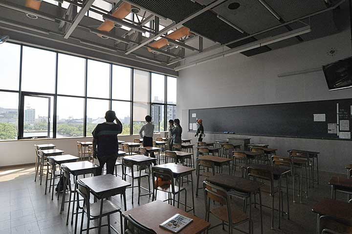 広島の建築 arch-hiroshima|基町高等学校